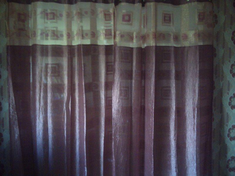 darou sa ada la maison de la gaiet linge de maison double rideaux esquice d orient. Black Bedroom Furniture Sets. Home Design Ideas